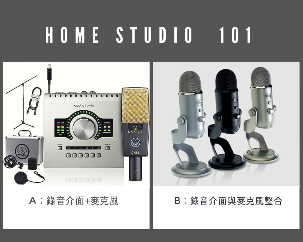 Hyphen_Home Recording Studio Setup