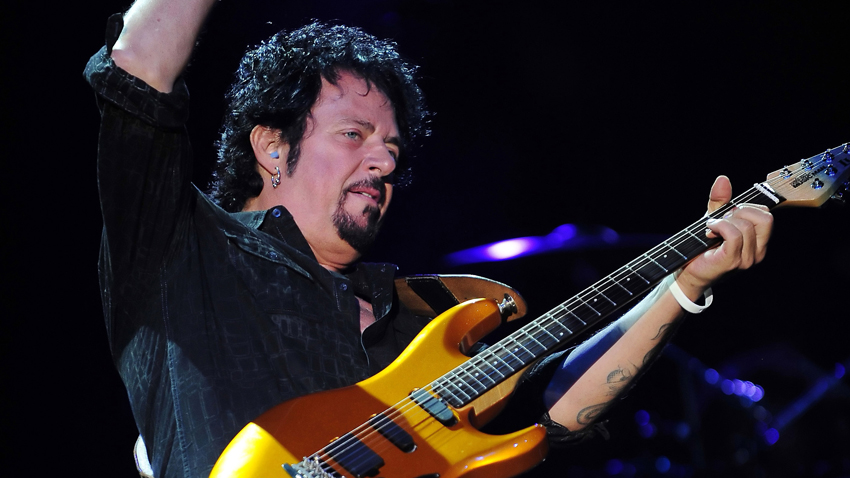 Guitarist Steve Lukather of the band Toto performed a live show at the Chumash Casino Resort in Santa Ynez,CA on September 6, 2012.(Credit Image: © John Pyle/Cal Sport Media/ZUMAPRESS.com)