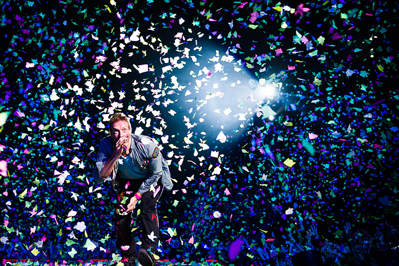 Coldplay, Mt Smart Stadium