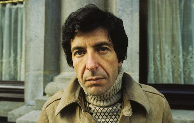 Leonard Cohen poses for a portrait in April 1972 in Amsterdam, Netherlands. (Photo by Gijsbert Hanekroot/Redferns)