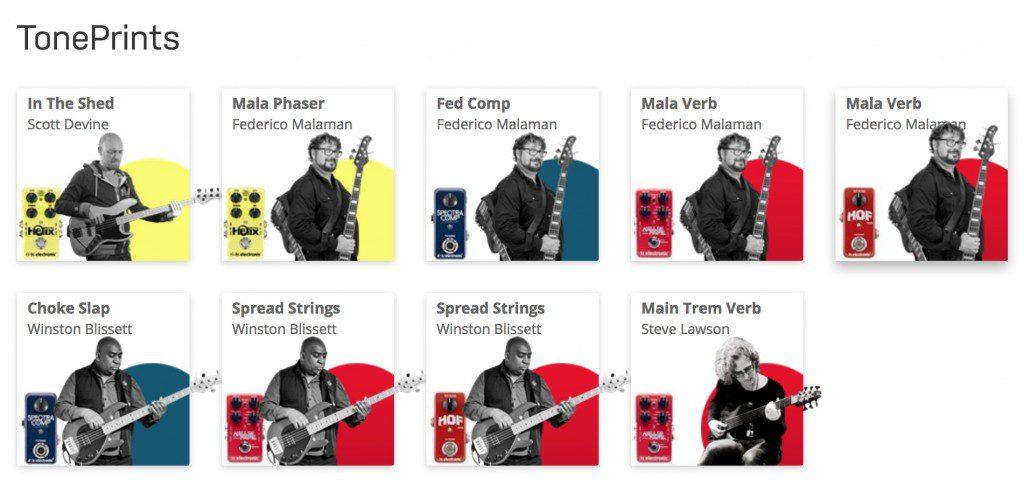 TC Electronic Bass Toneprints