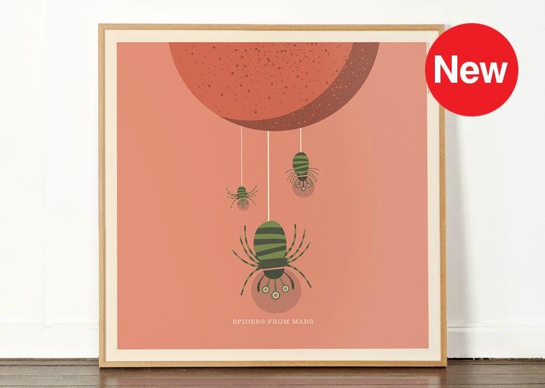 Dorothy DO 0068 - RockRollZoo - Spiders Mars A - Web