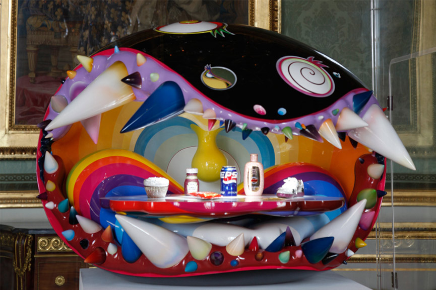 Takashi-Murakami-The-Simple-Things-collaboration-with-Pharrell-Williams-2008-2009-image-via-kaikaikikicojp