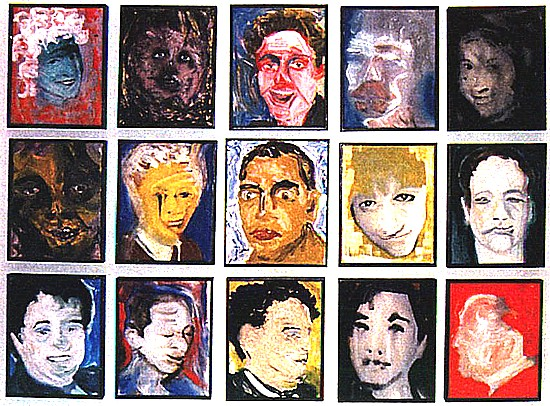 DHead XXVIII.--XXV, 1995-96, David Bowie