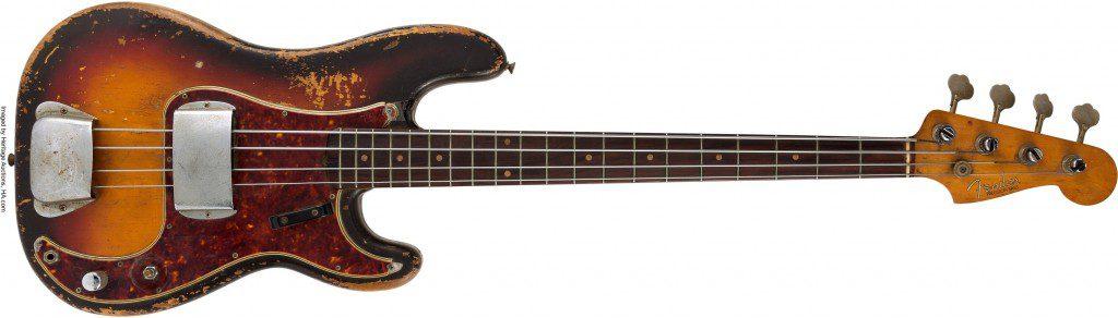 James Jamerson 的 P Bass 照片來源: Heritage Auctions